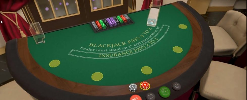 3D Blackjack games